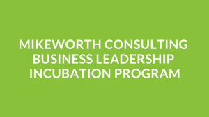 Mikeworth Consulting Business Leadership Incubation Program